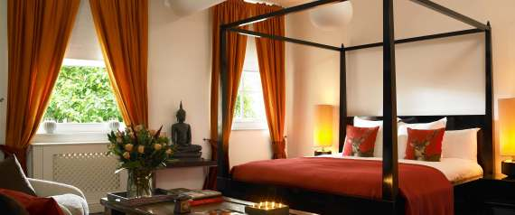 The thai suite in myhotel Chelsea.